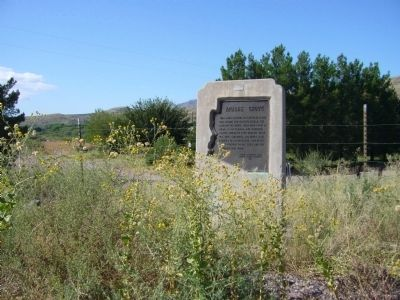 Apache Grove	 Marker image. Click for full size.