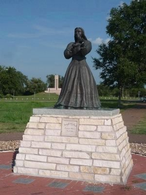 Angel of Goliad Memorial image. Click for full size.