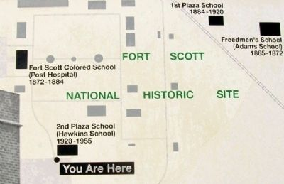 School Map on Marker image. Click for full size.