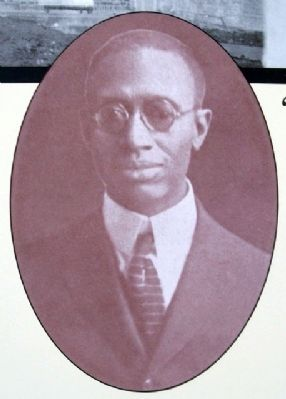 Professor Hawkins Photo on Marker image. Click for full size.