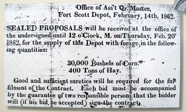 Newspaper Notice on Marker