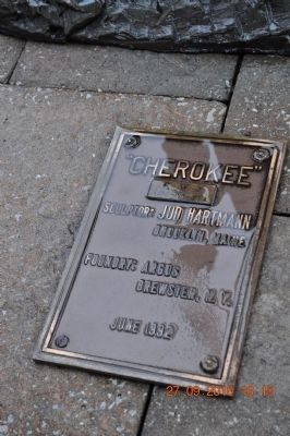 """Cherokee"" Marker image. Click for full size."
