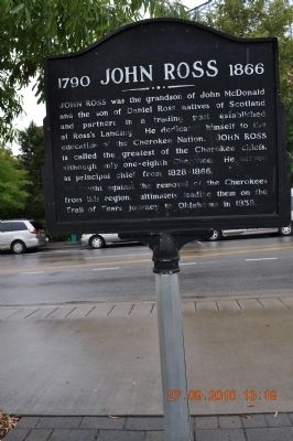 1790 John Ross 1866 Marker image. Click for full size.