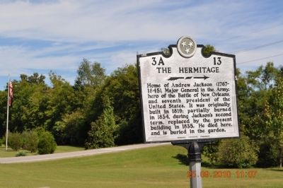 The Hermitage Marker image. Click for full size.