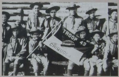 Boy Scout Troop 43, 1938 image. Click for full size.