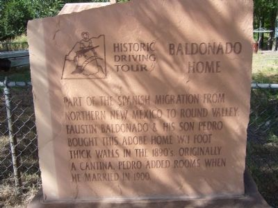 Baldonado Home Marker image. Click for full size.