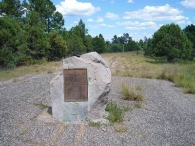 US 260 - Cavern to Canyon Route Dedication Plaque image. Click for full size.