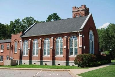 Good Hope Presbyterian Church -<br>South Corner image. Click for full size.