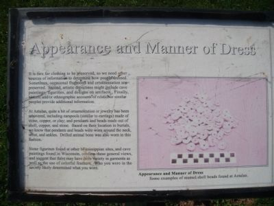 Appearance and Manner of Dress Marker image. Click for full size.
