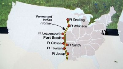 Frontier Fort Map on Marker image. Click for full size.