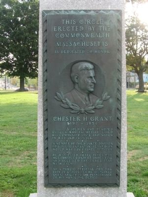Chester H. Grant Circle Marker image. Click for full size.