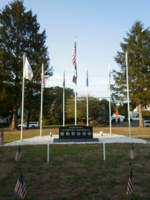 Bordentown Veteran's Memorial Marker image. Click for full size.