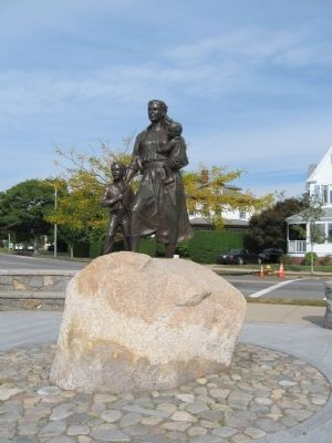 Gloucester Fishermen's Wives Memorial image. Click for full size.