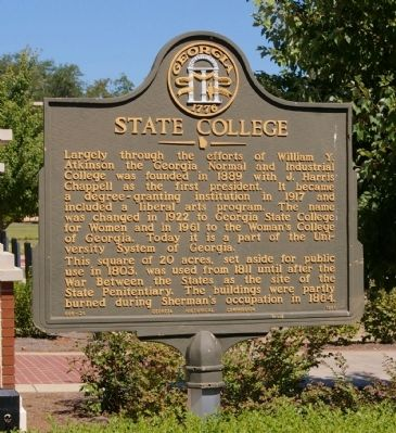 State College Marker image. Click for full size.