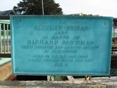 Blynman Bridge Marker image. Click for full size.