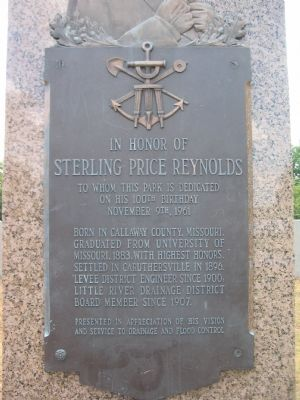 Sterling Price Reynolds Plaque image. Click for full size.