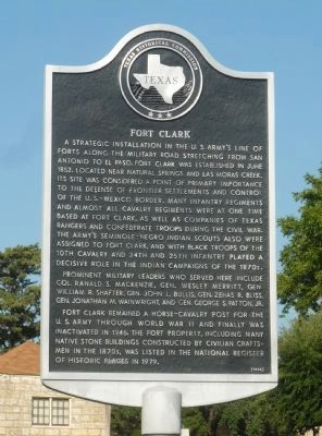 Fort Clark Marker image. Click for full size.