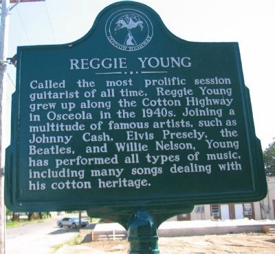 Reggie Young Marker image. Click for full size.