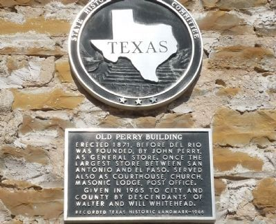 Old Perry Building Marker image. Click for full size.