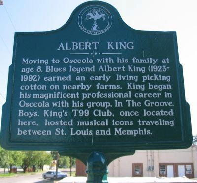 Albert King Marker image. Click for full size.