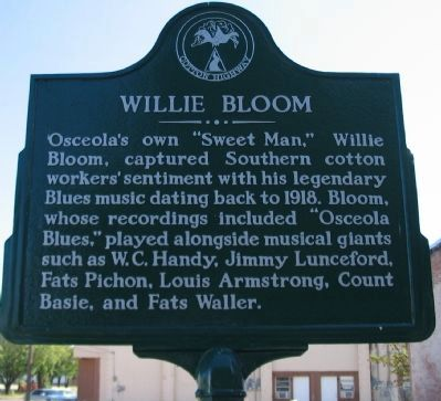Willie Bloom Marker image. Click for full size.