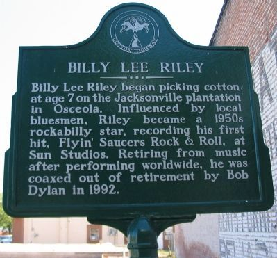 Billy Lee Riley Marker image. Click for full size.