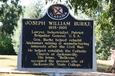 Joseph William Burke Marker image. Click for full size.