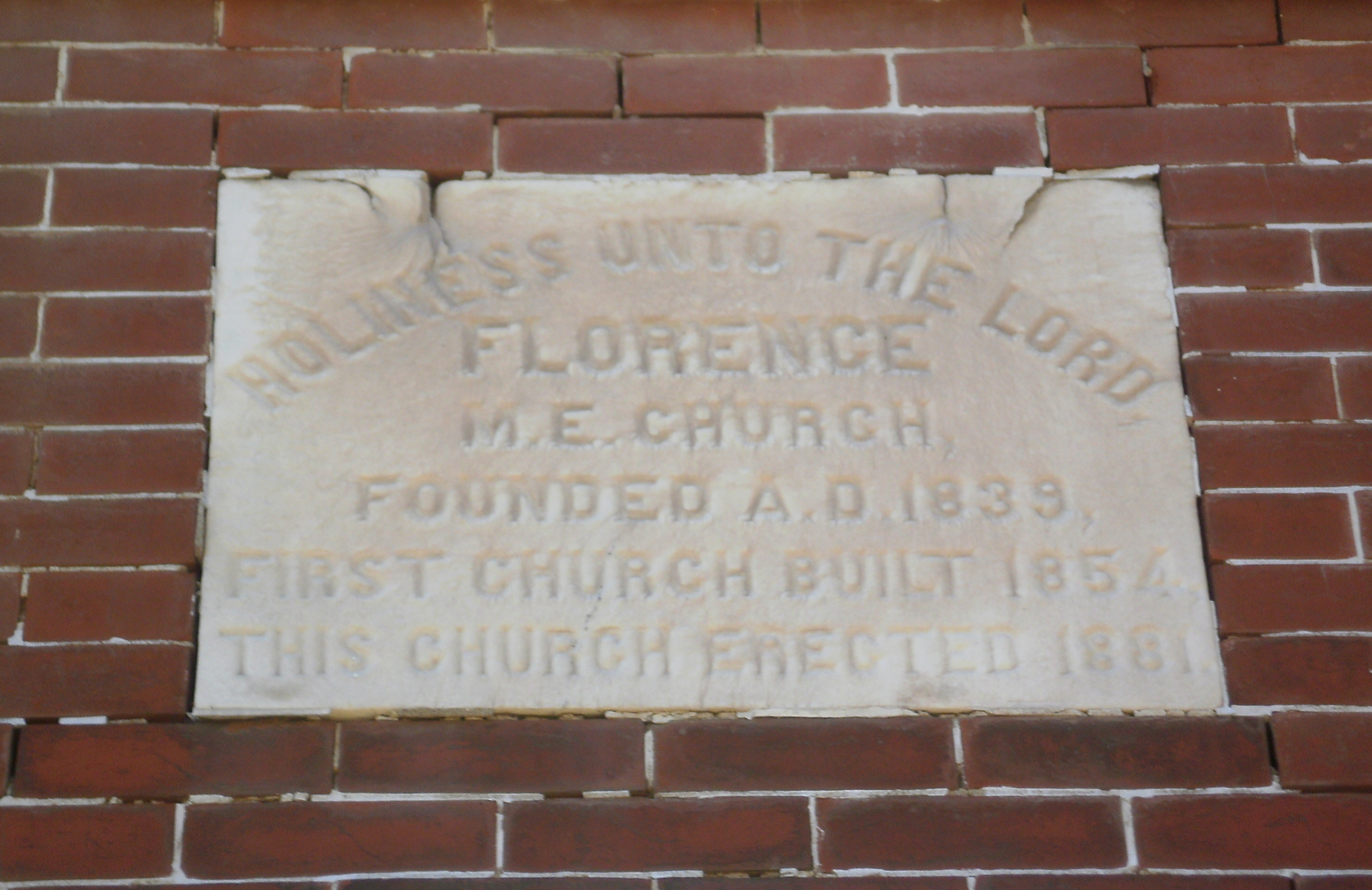 Florence M. E. Church Marker
