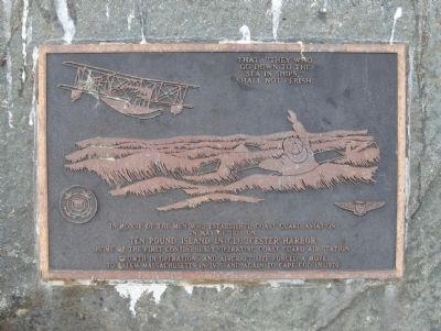 Coast Guard Aviation Monument image. Click for full size.