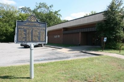 Jacksonville Marker by the Jacksonville Post Office image, Touch for more information