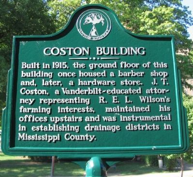 Coston Building Marker image. Click for full size.