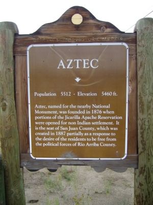 Aztec Marker image. Click for full size.