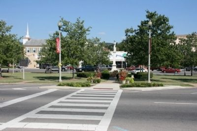 Jacksonville Town Square image. Click for full size.