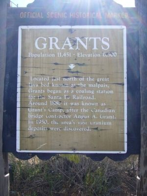 Grants Marker image. Click for full size.