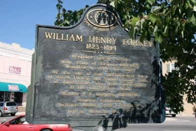 William Henry Forney Marker image. Click for full size.