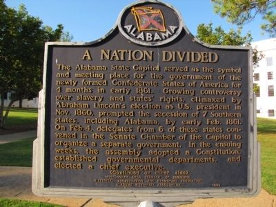A Nation Divided Marker image. Click for full size.