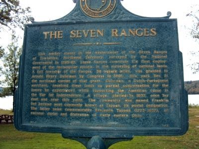 The Seven Ranges Marker image. Click for full size.
