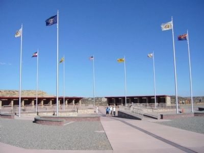 Four Corners Monument image, Touch for more information