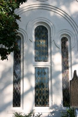 Temple Beth El's Stain Glass Windows image. Click for full size.