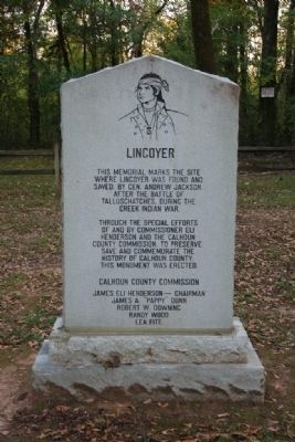 Lincoyer Marker Side B image. Click for full size.