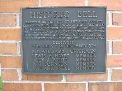 Historic Bell Marker image. Click for full size.