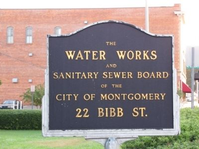 Water Works sign image. Click for full size.
