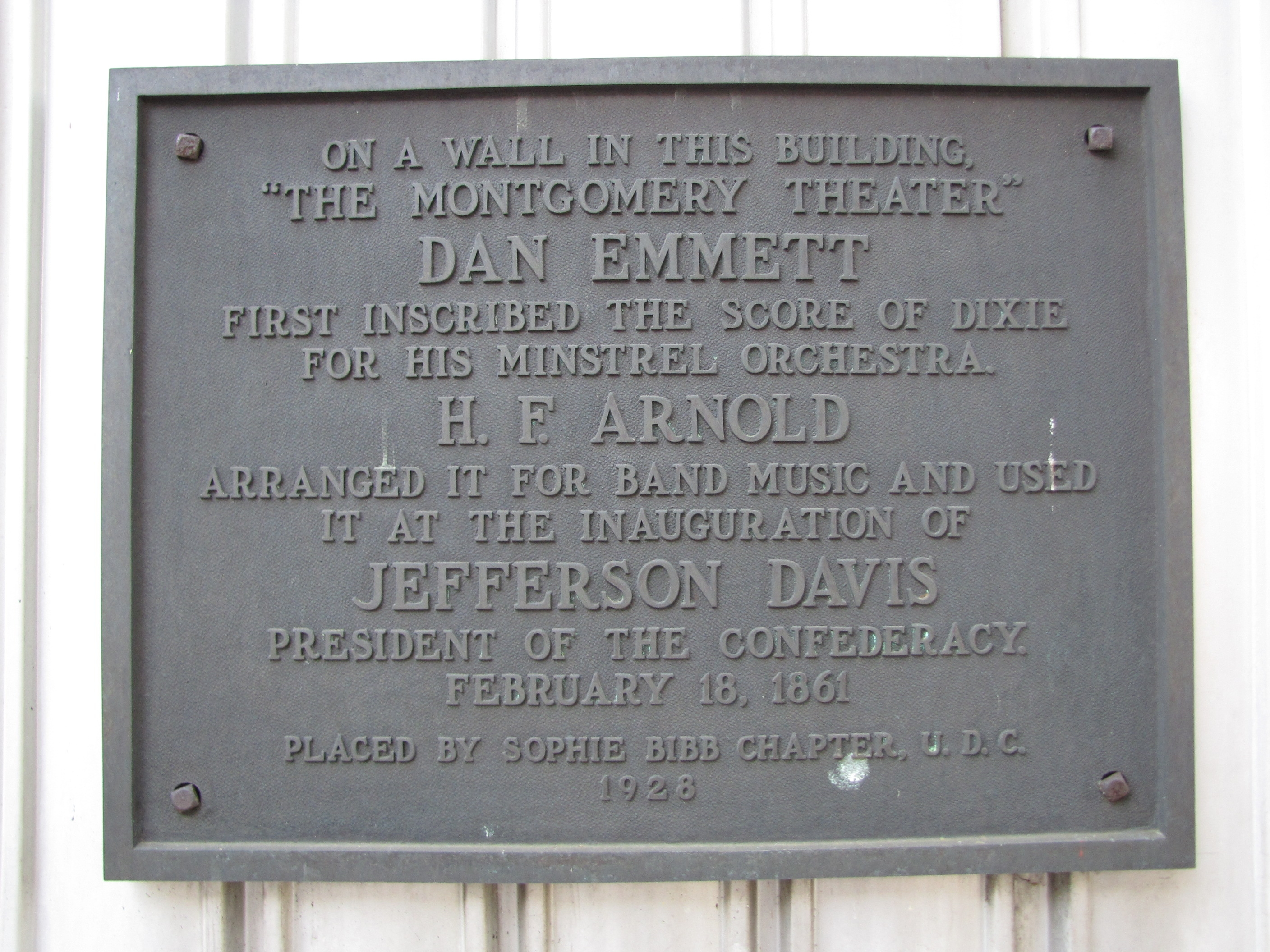 The Montgomery Theater Marker