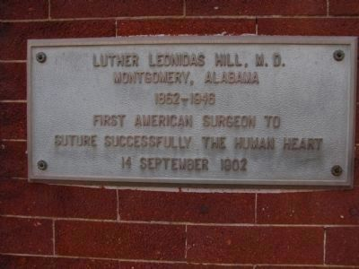 Luther Leonidas Hill, M.D. image. Click for full size.