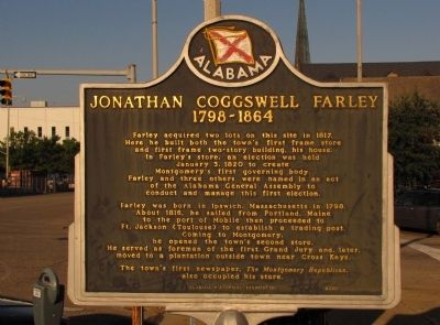 Jonathan Coggswell Farley Marker image. Click for full size.