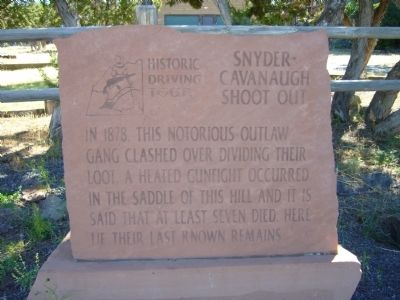 Snyder-Cavanaugh Shoot Out Marker image. Click for full size.