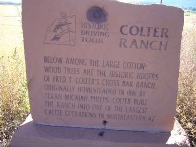 Colter Ranch Marker image. Click for full size.