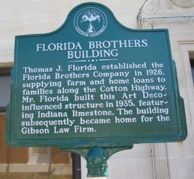 Florida Brothers Building Marker image. Click for full size.