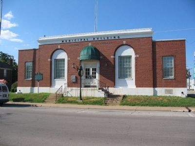 WPA Post Office image. Click for full size.