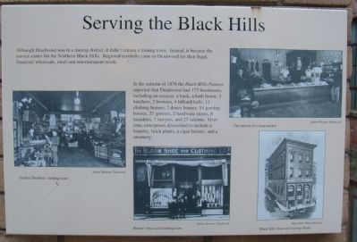 Serving the Black Hills Marker image. Click for full size.
